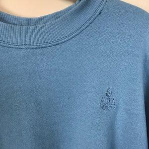 Vintage JCPenney USA Olympics sweatshirt blue